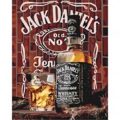 Картина за номерами ідейка Jack Daniel's КНО5555