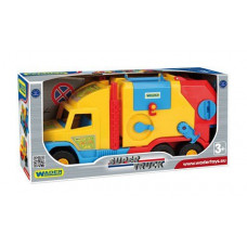Машинка Wader Super Truck мусоровоз 36580
