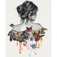 Картина за номерами Ідейка Ніжність метелики (КНО2688)