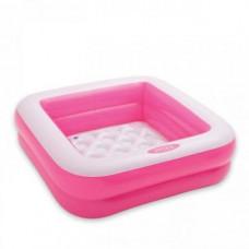 Надувний басейн Intex (рожевий) (57100)