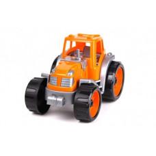 Машинка  Трактор ТехноК  оранжевый 3800