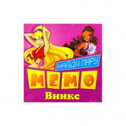 Карточки  Miravox МЕМО Винкс (007)