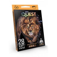 Карткова квест-гра Dankotoys Best Quest Тварини BQ-01-02 RUS
