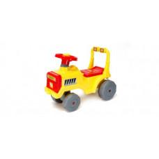 Детская каталка Orion  Беби Трактор (жёлтая) 931_Л