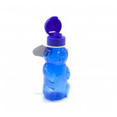 """Бутылочка для воды """"Мишка"""", 500 мл (синяя) 030"""