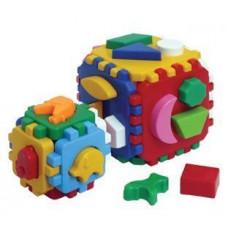 Игрушка куб ТехноК Умный малыш 1 + 1 (1899)