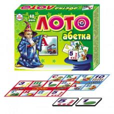 Лото Технок Абетка 48 фишек (укр) (0366)