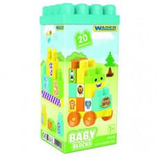 Baby Blocks Мои первые  кубики - 20 шт (в коробке) 41430