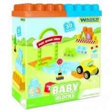 Конструктор Wader Baby Blocks , 30 дет 41440