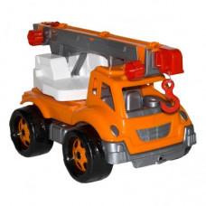 Игрушка Автокран ТехноК, арт. 4562/4 / оранжевый.