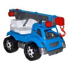 Игрушка Автокран ТехноК, арт. 4562 /4/ синий.