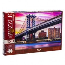 Пазлы Dankotoys Манхэттенский мост, Нью-Йорк, США  380 эл (C380-04-08)