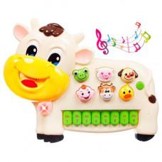 Детское пианино BeBeLino Коровка (58089)