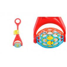 Игрушка для детей BeBeLino Моя первая каталка c мячиком 58101