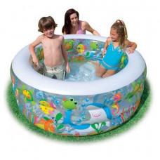 Дитячий надувний басейн Intex Акваріум (58480)
