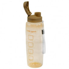 Спортивная бутылка для воды Lindo 500 мл  коричневая 8120