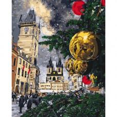 Картина за номерами Ідейка Різдвяні канікули 50 x 40 KHO3562