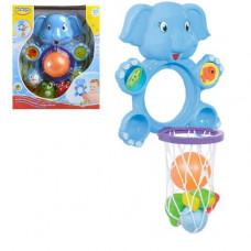 """Игрушка для ванной """"Слоник баскетболист"""" 58111"""