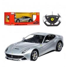 """Машина на радиоуправлении """"Ferrari F12"""" (серебристая) 49100"""