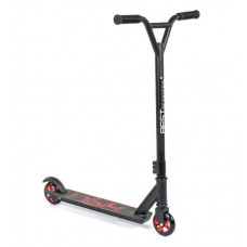 Самокат трюковый  Best Scooter  черно-красный 49276