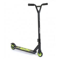 Самокат трюковый  Best Scooter  черно-зеленый 73049