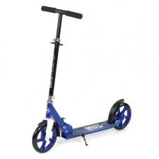 Самокат двухколесный  Best Scooter синий  27739
