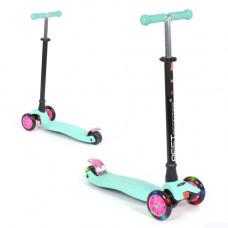 Самокат  Best Scooter Maxi  детский  бирюзовый  113-23101