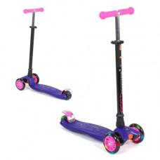 Самокат Best Scooter Maxi детский фиолетовый 113-23101