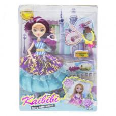Кукла  JIA YU TOY KAIBIBI: Fairy Tale World с аксессуарами (фиолетовый) (BLD123)