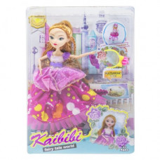 Кукла JIA YU TOY KAIBIBI: Fairy Tale World с аксессуарами (малиновый) (BLD123)