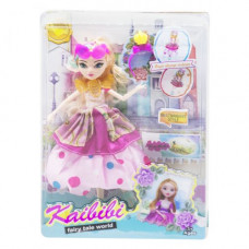 Кукла  JIA YU TOY KAIBIBI: Fairy Tale World  с аксессуарами (розовый) (BLD123-1)