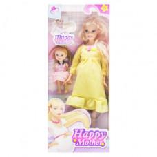Кукла беременная  JIA YU TOY Happy Mother с ребёнком (желтый) (858A1)