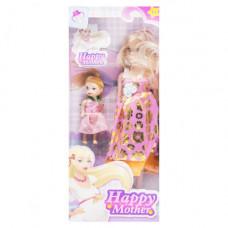 Кукла беременная  JIA YU TOY Happy Mother с ребёнком (розово-золотой) (858A1)