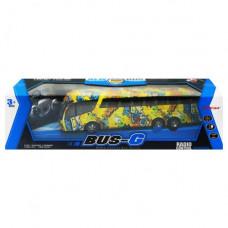 """Автобус """"Bus-G"""" на радиоуправлении с граффити (желтый) 666-694TA"""