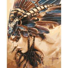 Картина по номерам Art Story Принцесса племені AS0560