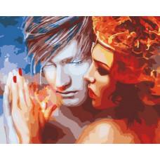 Картина по номерам Art Story Лёд и пламя AS0562