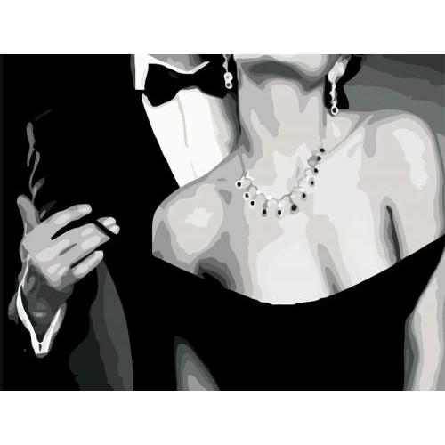Картина по номерам  Art Story  Роскошная пара  AS0569