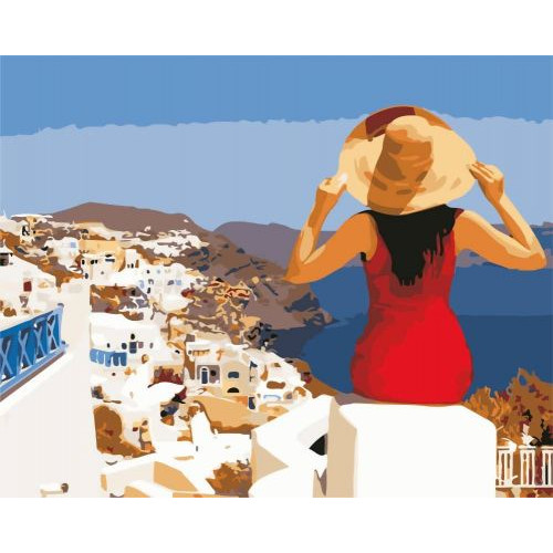 Картина за номерами Art Story Грецькі канікули AS0571