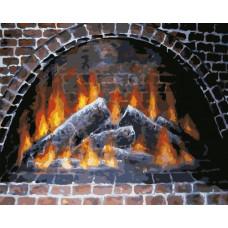 Картина по номерам Art Story Тепло огня  AS0585
