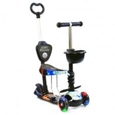 Самокат с ручкой  Best Scooter 21500