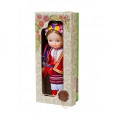 Кукла ЧудиСам Девочка в вышиванке (красный) (В220/2)