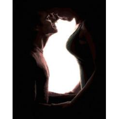 Картина по номерам Brushme Семья олицетворение кошки  (PGX24725)