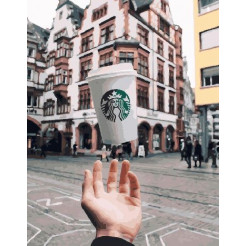 Картина по номерам Brushme Магия кофе 40х50 GX26598