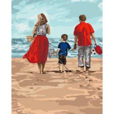 Картина по номерам Идейка Семейный отдых 40 х 50 (КНО4679)