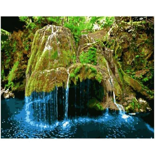 Картина по номерам Brushme Водопад Бигар, Румыния ★★★ (GX8816)