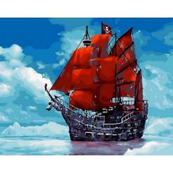 Картина по номерам Brushme Мечта Ассоль  (GX29453)
