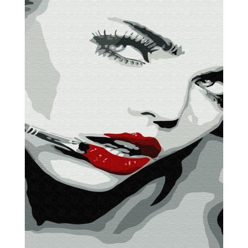 Картина по номерам Brushme Оттенок красного ★ GX34138