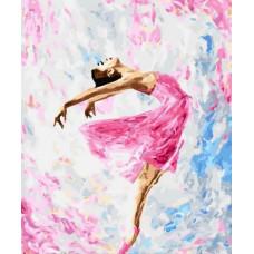 Картина за номерами Brushme Танець фарб 40х50 (GX29767)