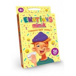 Карточная игра  Dankotoys Emotions Mimik (укр) (32)  (EM-01-01U)