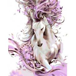 Картина по номерам Rosa  Вeautiful Horse 35х45 (N00013449)
